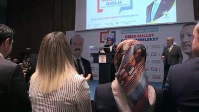beraberlik - AK Parti Bolu Belediye Başkan Adaylarını Tanıtım Toplantısı - BOLU