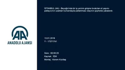 Beyoğlu'ndaki bombalı saldırının şüphelisi yakalandı - İSTANBUL