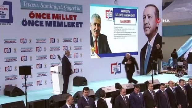 temel atma toreni -  Cumhurbaşkanı Erdoğan, Sakarya ilçe belediye başkan adaylarını açıkladı