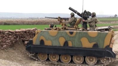 TSK'den İdlib sınırında eğitim faaliyeti (1) - HATAY