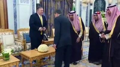 - Abd Dışişleri Bakanı Pompeo, Suudi Arabistan Kralı Selman İle Görüştü