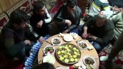 beraberlik -  Bayburt'ta asırlık kış geleneği sürdürülüyor