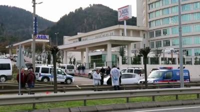 yazili aciklama - Hastaneden kaçmaya çalışan tutuklu vuruldu - ORDU