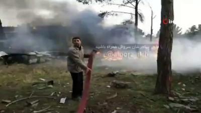 kargo ucagi -  - İran'da Düşen Uçakta 1 Yaralı, 14 Ölü