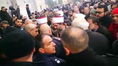 yazili aciklama - İsrail polisi Mescid-i Aksa Müdürü'nü darbetti - KUDÜS