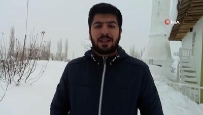 - Kar yolları kapattı öğrenciler sınava giremedi