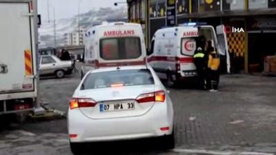 trafik kazasi -  Malatya'da kaza: 2 yaralı