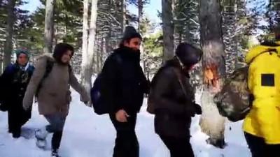 alabalik - ODAK'tan Zorkun Yaylası kar yürüyüşü - OSMANİYE