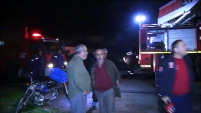 Piknik tüpünün patladığı ev yandı - BALIKESİR