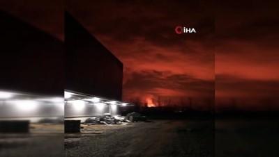 Sakarya'da ormanlık alanda yangın