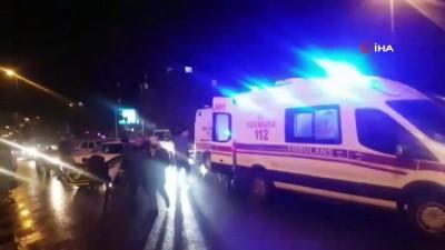 trafik kazasi -  Şanlıurfa'da trafik kazası: 4 yaralı