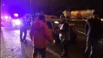 trafik kazasi - Sultanbeyli'de trafik kazası: 1 ölü - İSTANBUL