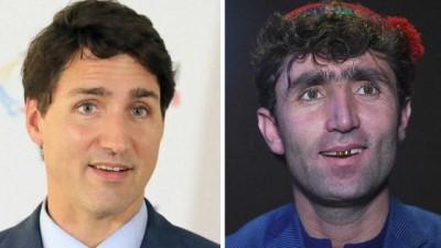 yaris -  | Afgan düğün şarkıcısı Kanada lideri Trudeau'nun 'ikizi' çıktı