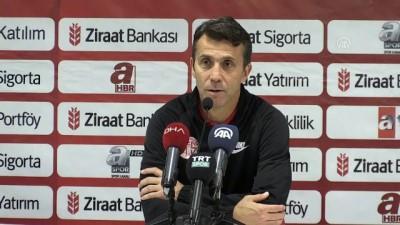 devre arasi - Antalyaspor-Göztepe kupa maçının ardından - ANTALYA