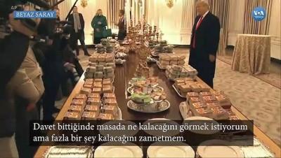 Beyaz Saray'da Görülmemiş İkram