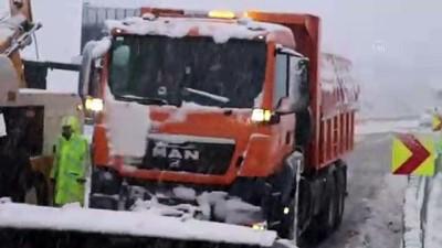 Bolu Dağı İstanbul istikameti trafiğe açıldı - BOLU