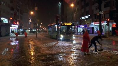 Denizli-Antalya kara yolu tek yönlü kapatıldı (2) - DENİZLİ
