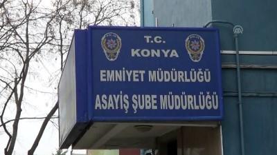Direklerden telefon kablosu çalan 4 şüpheli tutuklandı - KONYA