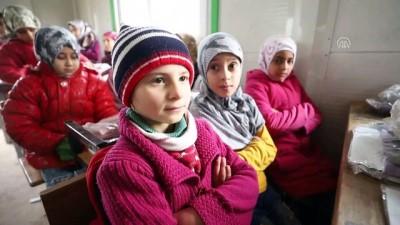 hayirseverler - İHH'den savaşın çocuklarına kış yardımı - AZEZ