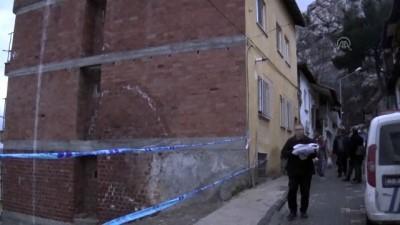 İstinat duvarı çöktü - AMASYA