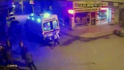 trafik kazasi - Otomobil iş yerinin vitrinine girdi - SAMSUN