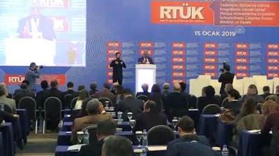 RTÜK Başkanı Yerlikaya: 'Medyada engellilere yönelik iyileştirmeler lütuf değil haktır' - ANKARA