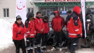 sili - Üç ilden UMKE ekibi dualarla Kilis'e uğurlandı - BİTLİS