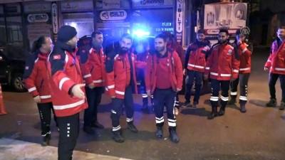 sili - UMKE ekipleri Kilis'e ulaştı