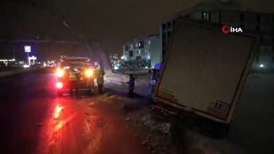 Aksaray'da ulaşıma kar engeli...Eğitime 1 gün ara verildi