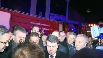 Ankara Valisi Şahin: 'Dumandan etkilenen 5 çalışan rahmetli oldu' - ANKARA