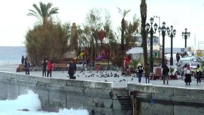 Barbaros Hayrettin Paşa gemisi KKTC açıklarında - GİRNE
