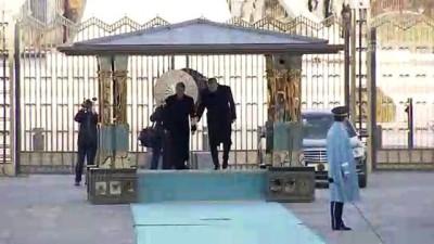 Cumhurbaşkanı Erdoğan, Hırvatistan Cumhurbaşkanı Kitaroviç'i resmi törenle karşıladı - ANKARA