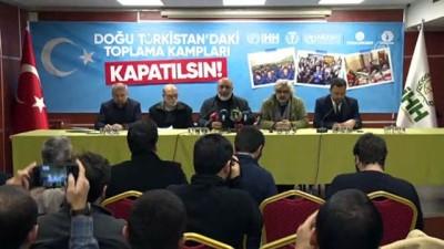 İHH'dan Uygur Türklerine yönelik zulme tepki - İSTANBUL