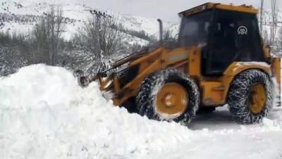 'Kar kaplanları' zorlu mesaide (2) - ELAZIĞ