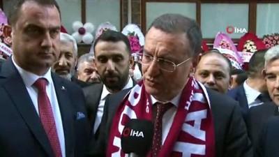 """beraberlik - Lütfü Savaş: """"Hatayspor'u Süper Lig'de görmek istiyoruz"""""""