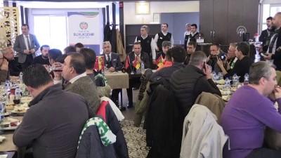 spor musabakasi - Malatya Büyükşehir Belediyesinden dostluk yemeği