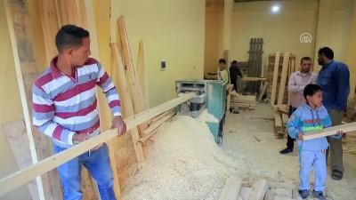 Mısırlıların tercihi el yapımı ömürlük mobilyalar - KAHİRE