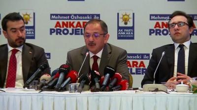 Özhaseki: 'Milliyetçi Hareket Partili milletvekili ve genel başkan yardımcısı arkadaşlarla kampanyamızı zaten beraber yürütüyoruz' - ANKARA