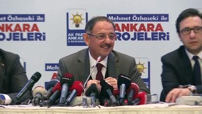 Özhaseki: 'Ne, çok kötü gitti ki bir anda millet yüzünü AK Parti'den ve MHP'den çevirmiş olsun' - ANKARA