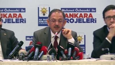 Özhaseki: 'Partimizin ve MHP'nin aldığı oylardan daha fazla bir oy almak hedefimiz olmalı' - ANKARA