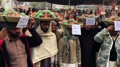gubre -  - Pakistanlı Çiftçilerden Patatesli Eylem