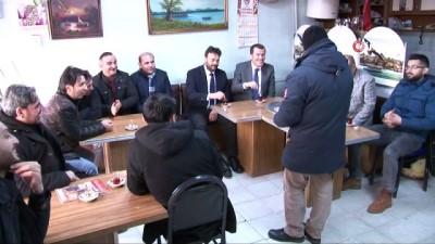 AK Parti Zeytinburnu Belediye Başkan Adayı Ömer Arısoy'dan esnaf ziyareti