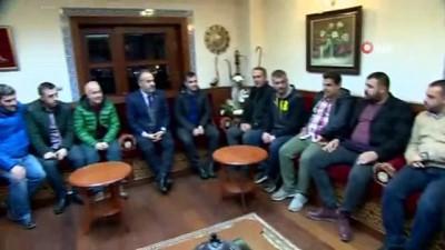 Aktaş, Bursaspor taraftarlarıyla buluştu