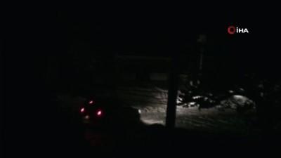 Ana trafo yandı ilçe karanlığa gömüldü