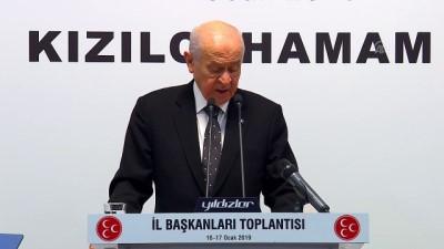 Bahçeli: 'İnancım odur ki Cumhur İttifakı, sahip olduğu milli mücadele ruhuyla Türkiye'ye tuzak kuranları şaşkına çevirecektir' - ANKARA