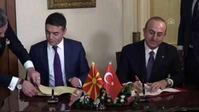 Çavuşoğlu: 'Makedonya'yı anayasal ismiyle tanımaya devam edeceğiz' - ANKARA