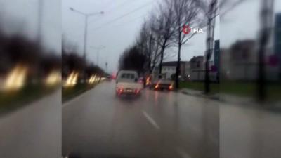 Drift yapan kamyonet sürücüsüne ağır ceza Haberi