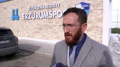 teknik direktor - Erzurumspor ikinci yarıdan umutlu - ERZURUM