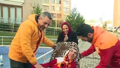 Galatasaraylı engelli gencin hayali gerçekleşiyor - KOCAELİ