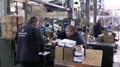 Gaziantep'ten 45 ülkeye makarna ve tekstil makinesi ihracatı